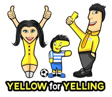 Yellow for Yelling